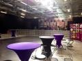 pod tables at Fuerza Busha 2